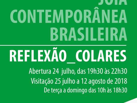 EXPOSIÇÃO JOIA CONTEMPORÂNEA BRASILEIRA | REFLEXÃO_COLARES