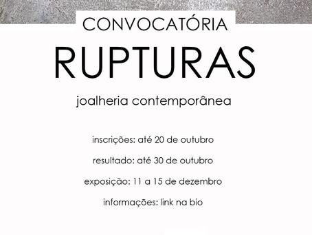 CONVOCATÓRIA - RUPTURAS