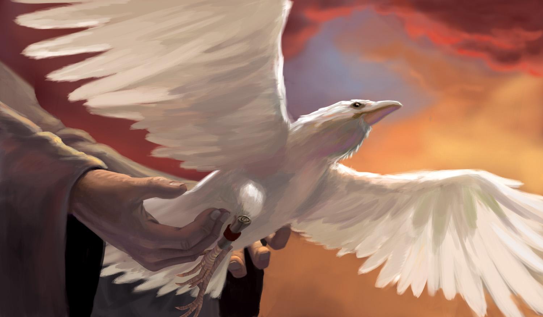 By Raven's Wings