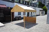 木製テント