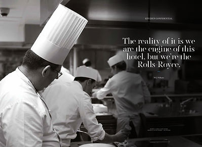 A feature I shotfor The Ritz Magazine about John Williams OBE head chef at The Ritz.