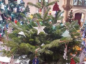 LB Mencap's beautiful Christmas Trees