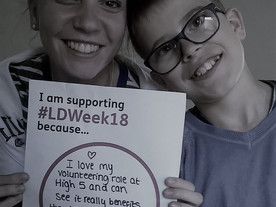 Why we are supporting Learning Disability Week 2018