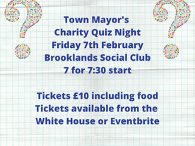 Town Mayor's Charity Quiz Night