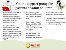 Online support group of parents with adult children on the autistic spectrum