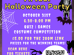 Spook-tacular virtual Halloween party