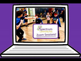 Spectrum Community Arts are ZOOMing into your living room
