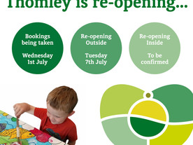Thomley is reopening