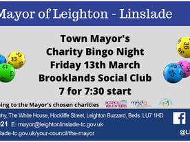 Town Mayor's Charity Bingo Night