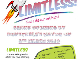 LIMITLESS by Mencap - new adult social group in Dunstable