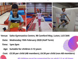 Exclusive play session at Salto Gymnastics Centre