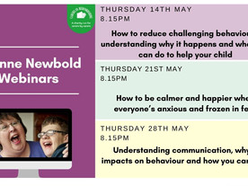 Webinars for anyone caring for a child with additional needs