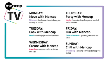 Launch of NEW Mencap TV