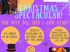 This year's 'Christmas Spectacular' from Spectrum Community Arts