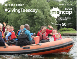 Support LB Mencap this #GivingTuesday