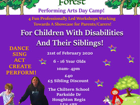 Spectrum Community Arts presents Enchanted Forest Day Camp