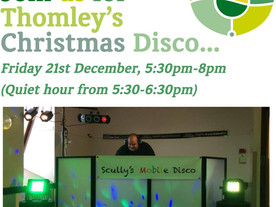 Christmas Disco for all ages at Thomley