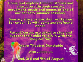 Sensory story exploration workshops from Spectrum - book now