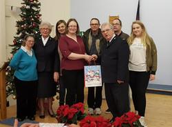 FW - Salvation Army xmas service donation Dec 2017