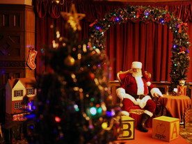 Vintage 1940s Christmas Grotto at Bletchley Park - autism friendly openings