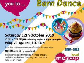 LB Mencap's anniversary barn dance