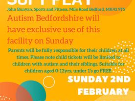 Autism Bedsforshire at John Bunyan Soft Play