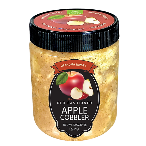 Apple Cobbler in a Jar: 4 Count