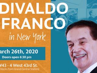 Divaldo Franco In New York - March 26, 2020