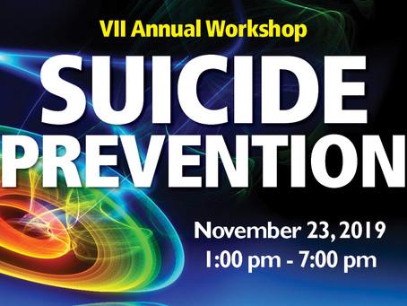 Suicide Prevention Workshop - Registration is Open