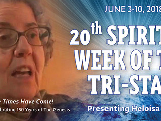 XX Spiritist Week of the Tri-State - June 3-10, 2018