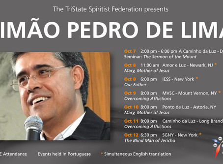 Simao Pedro de Lima in the Tri-State - October 2017