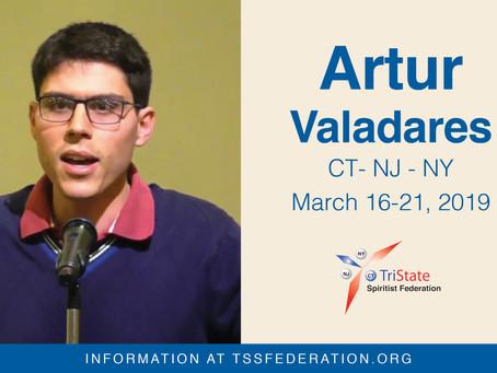 Artur Valadares - March 16-21, 2019