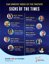 XXII Spiritist Week of the TriState - Virtual