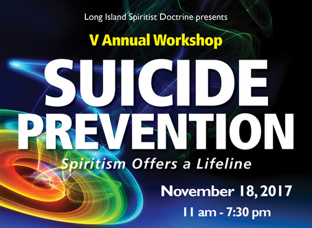 Suicide Prevention: Spiritist Offers a Lifeline
