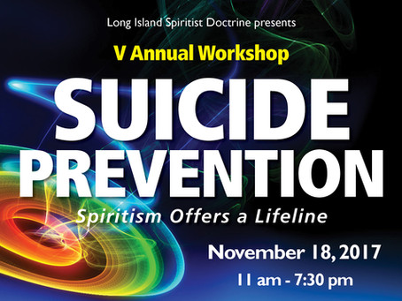 Suicide Prevention: Spiritist Offers a Lifeline