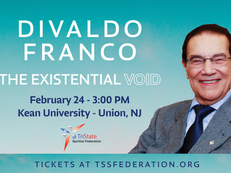 Divaldo Franco: The Existential Void - New Jersey, February 2019
