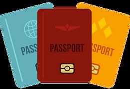 passports-icon-flat-style-vector-1352052