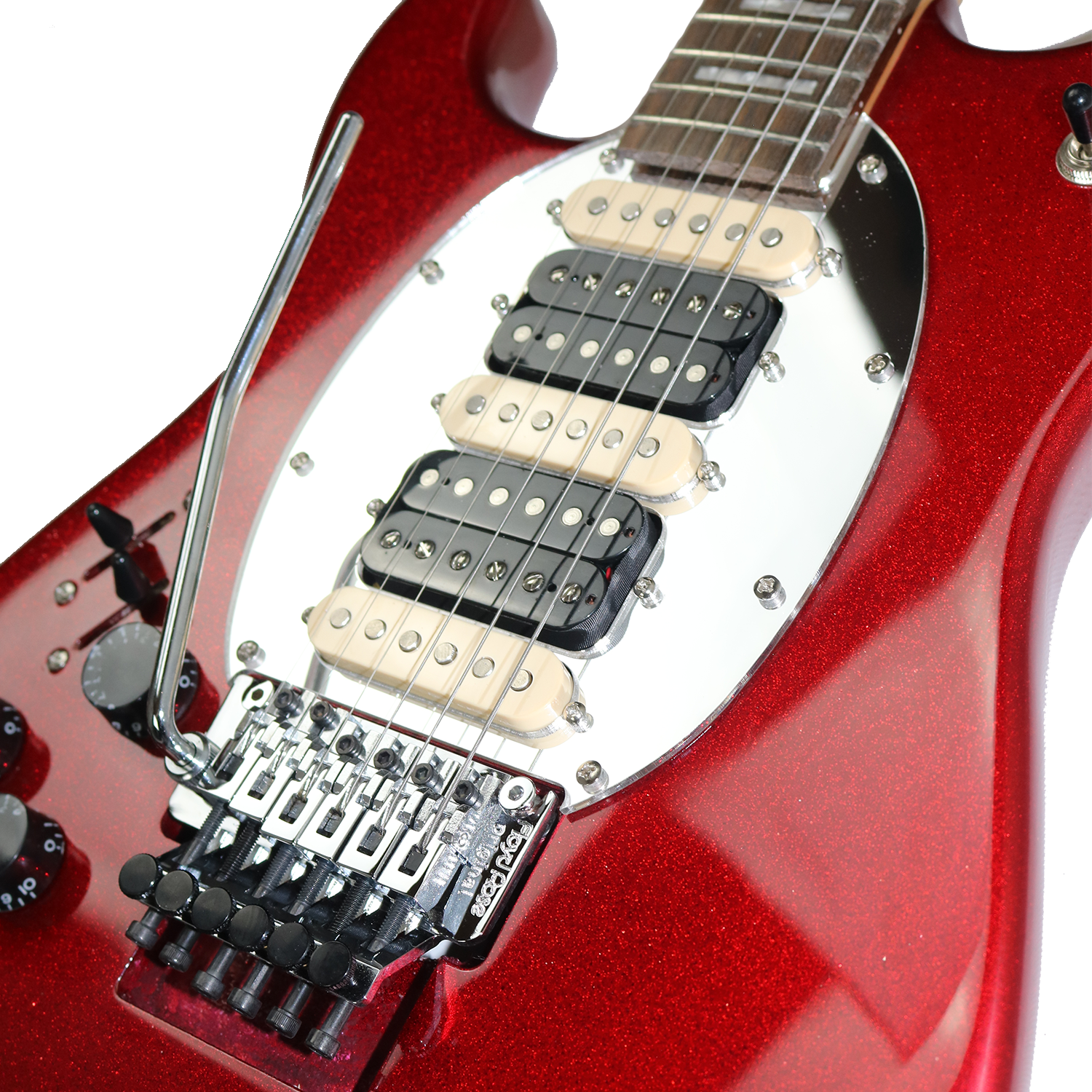 ES Hybrid Red Sparkle Left Pickups