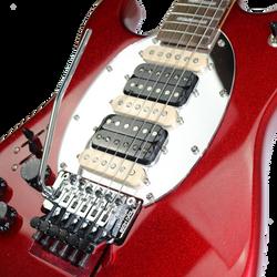 ES Hybrid Red Sparkle Left Pickups