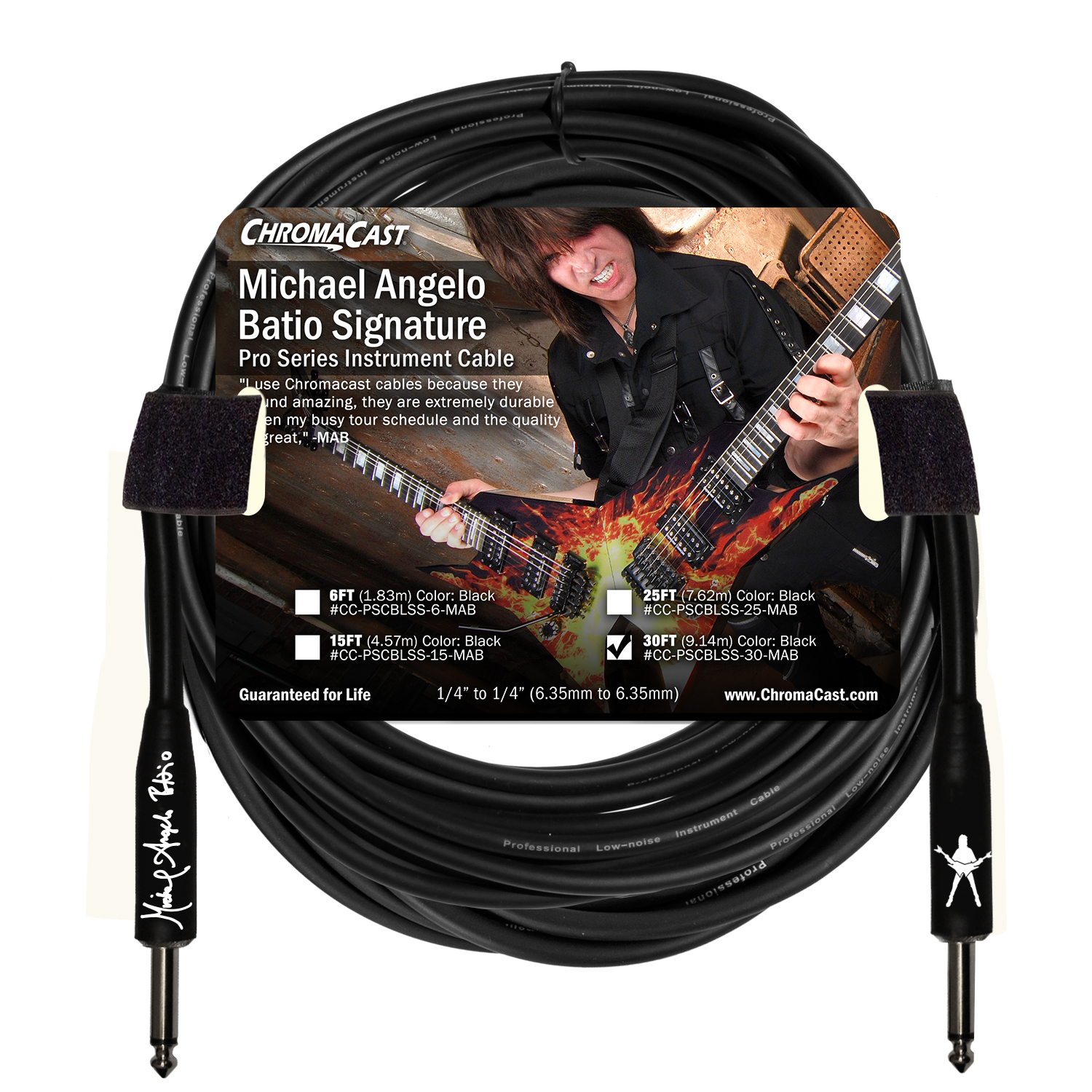 MAB Signature 30' Pro Series Cable