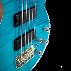 Cali Blue Flame 5-String Americana Heritage
