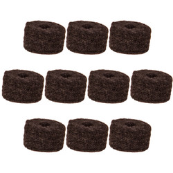 Cymbal Felt - Large 10 Pack