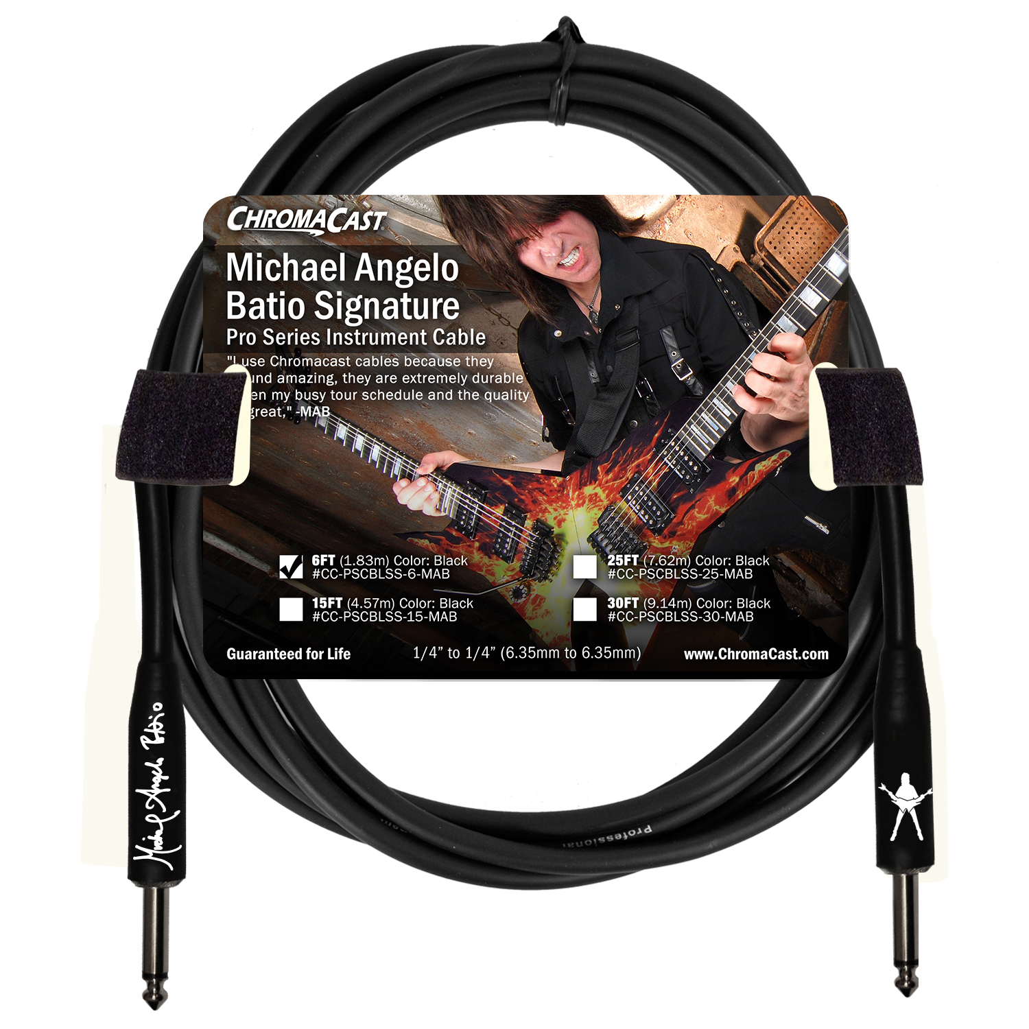 MAB Signature 6' Pro Series Cable