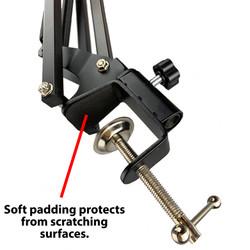"Scissor Arm Mic Stand (28"")"
