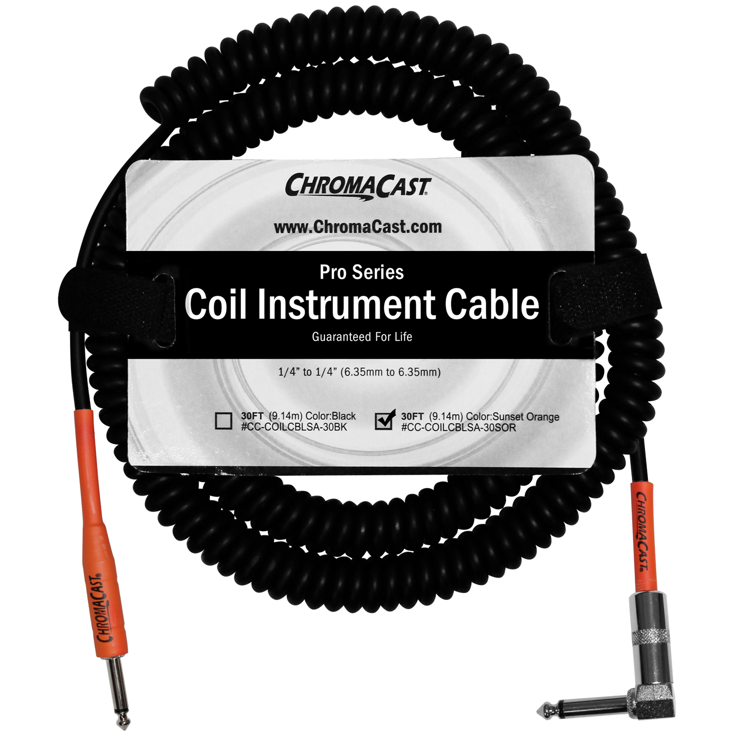 Pro Series Coil Instrument Cable