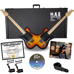 MAB Sunburst Double-Guitar