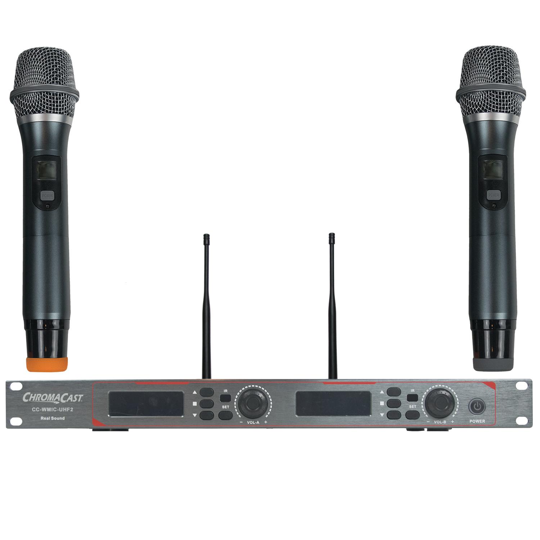 Dual Channel UHF Wireless Mic System