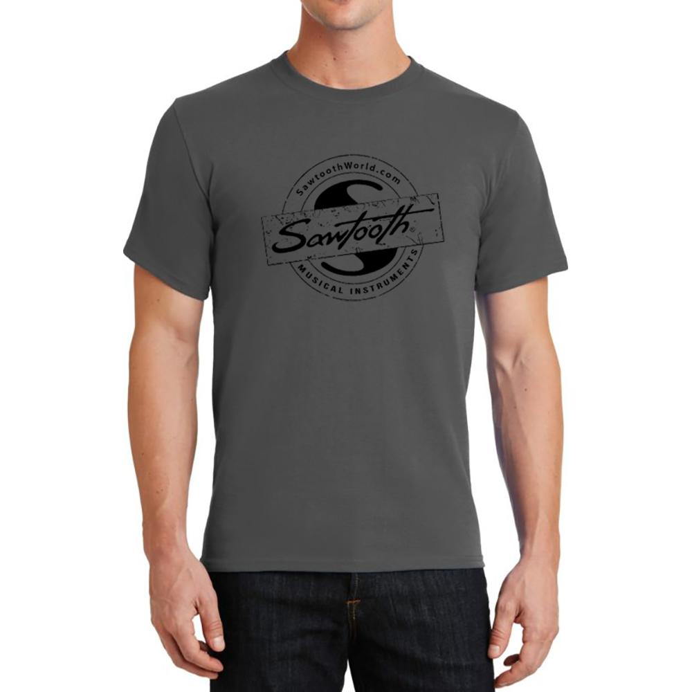 Sawtooth Drum Badge Logo Tee