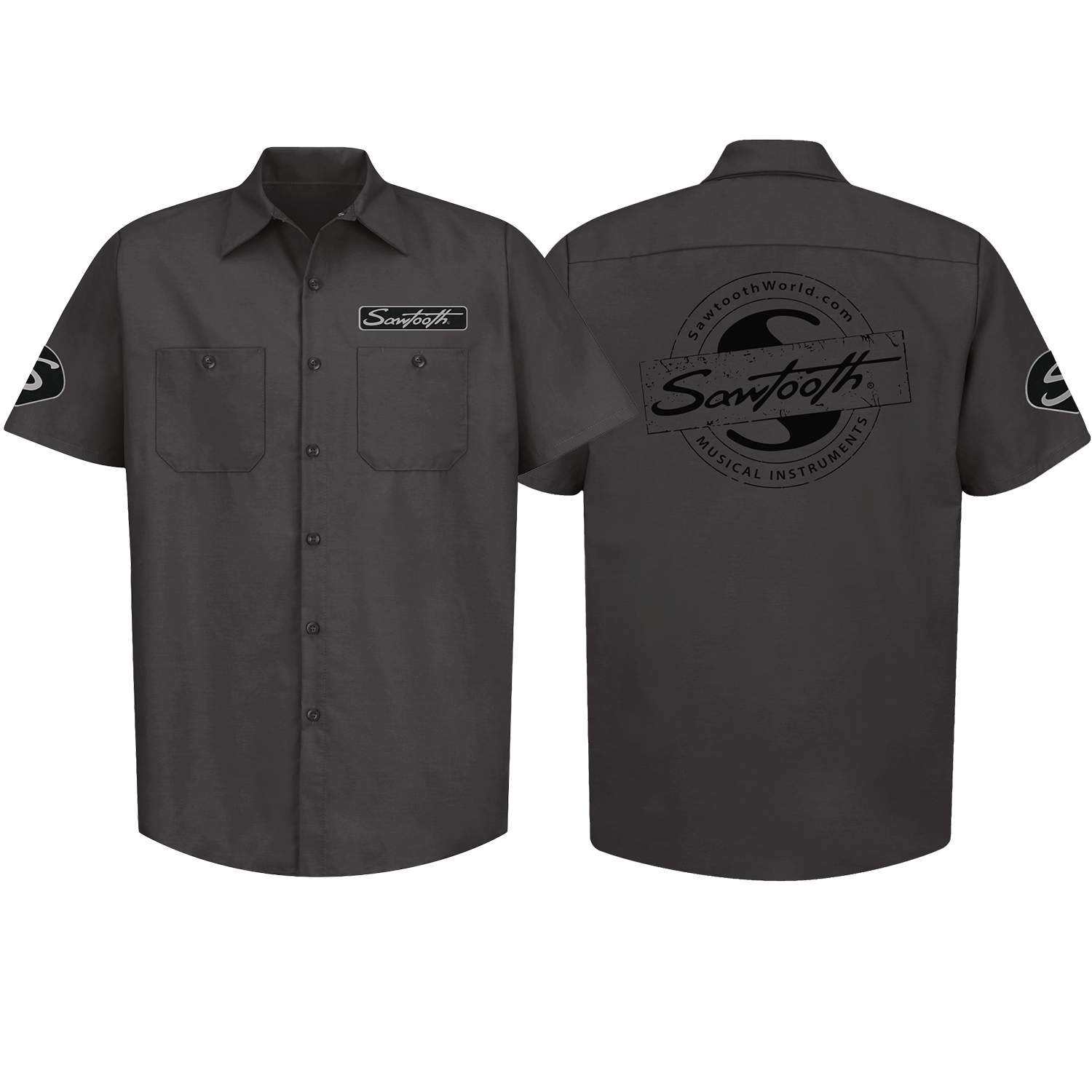 Sawtooth Short Sleeve Work Shirt