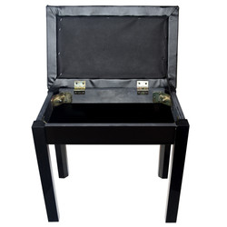 Single Seat Bench - Black